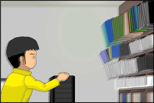 僕の大震災01話コマ15