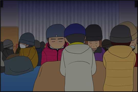 僕の大震災08話コマ10